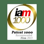 IAM Patent 1000 2015