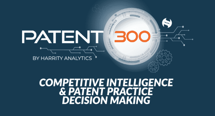 Patent 300 Competitive Intelligence & Patent Practice Decision Making